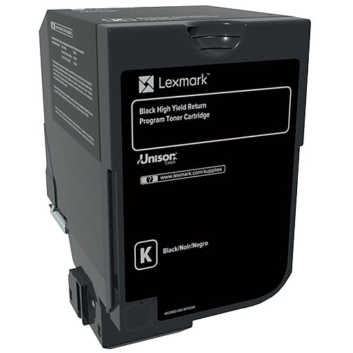 CS725 Lexmark Black Toner