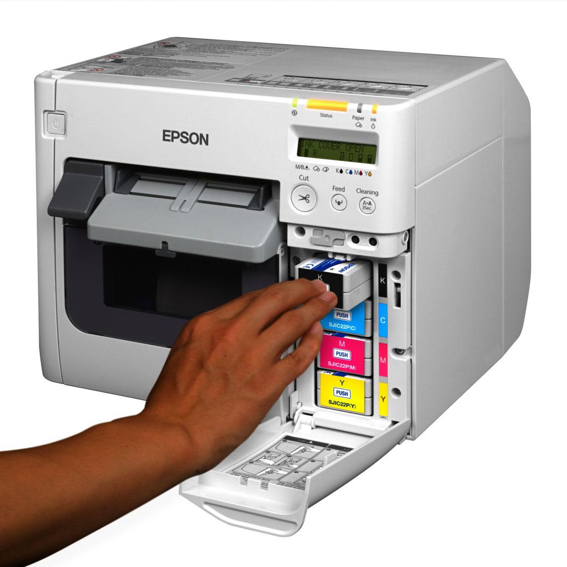 Epson ColorWorks C3500 Color Label Printer