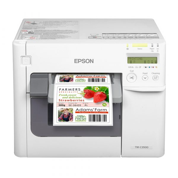 Epson C3500 Color Label