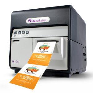 ql-120 quicklabel color label printer