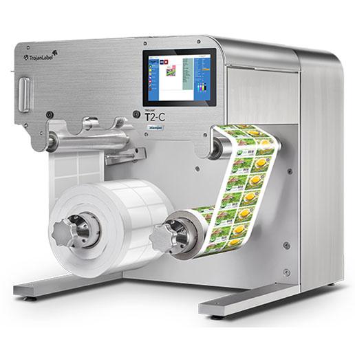 Trojan T2-C Tabletop Mini-Press Label Printer