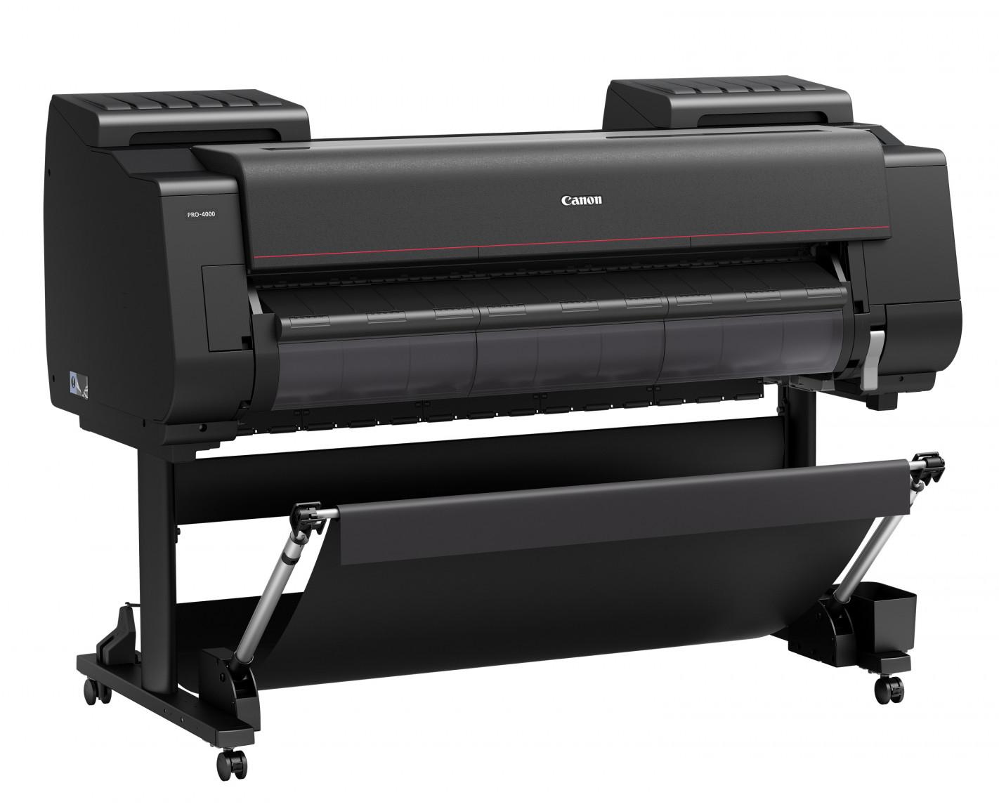 Canon Ipf Pro 4000 Inkjet Printer 1127c002aa Portland