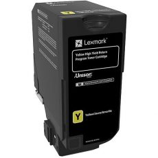 CS725 Lexmark Yellow Toner